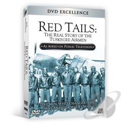 Red Tails:Real Story Of The Tuskegee DVD Cover Art