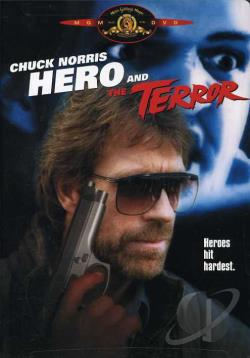 Hero and the Terror DVD Cover Art