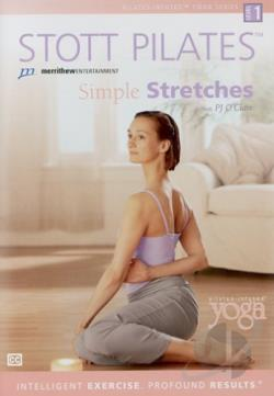 Stott Pilates - Simple Stretches DVD Cover Art