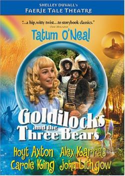 Faerie Tale Theatre - Goldilocks and the Three Bears DVD Cover Art