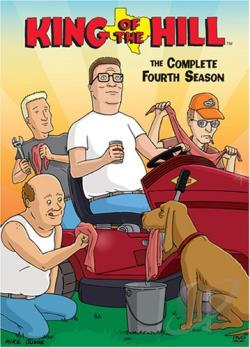King of the Hill - The Complete Fourth Season DVD Cover Art