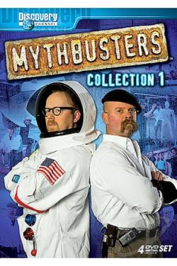 MythBusters - Collection 1 DVD Cover Art