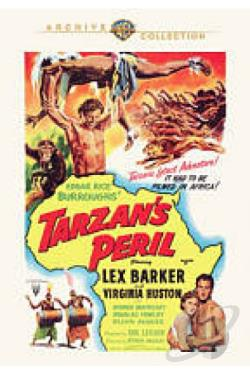 Tarzan's Peril DVD Cover Art
