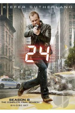 24 - The Complete Eighth Season DVD Cover Art