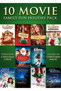 10 Movie Family Fun Holiday Pack DVD Cover Art