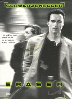 Eraser DVD Cover Art