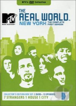 MTV's The Real World - New York - The Complete First Season DVD Cover Art