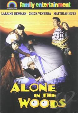 Alone in the Woods DVD Cover Art