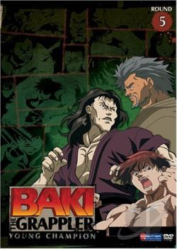 Baki the Grappler - Vol. 5: Young Champion DVD Cover Art