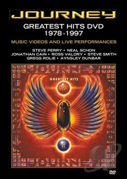 Journey - Greatest Hits: 1978-1997 DVD Cover Art