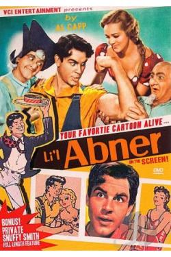 Li'l Abner DVD Cover Art