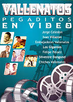 Vallenatos Pegaditos En Video DVD Cover Art