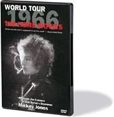 Bob Dylan:1966 World Tour Home Movies DVD Cover Art