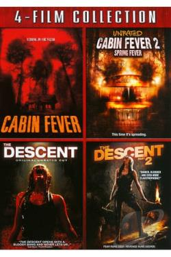 Cabin Fever/Cabin Fever 2/Descent/Descent 2 DVD Cover Art
