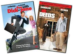 Fun With Dick & Jane/ Mr. Deeds 2-Pack DVD Cover Art