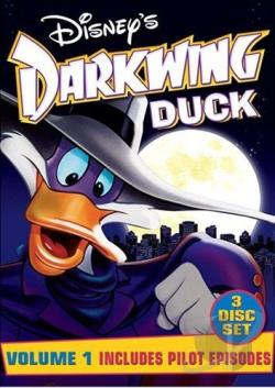 Darkwing Duck - Vol. 1 DVD Cover Art