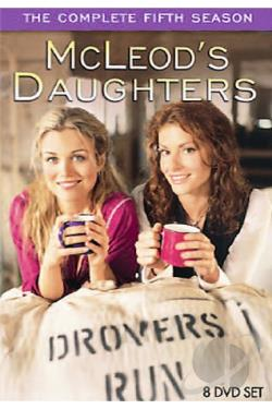 McLeod's Daughters - The Complete Fifth Season DVD Cover Art