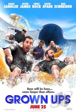 Grown Ups DVD Cover Art