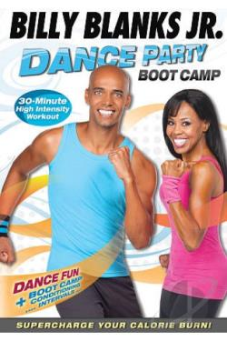 Billy Blanks Jr.: Dance Party Boot Camp DVD Cover Art