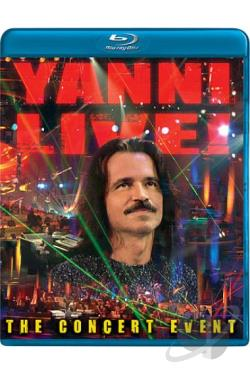 Yanni - Live: The Concert Event BRAY Cover Art