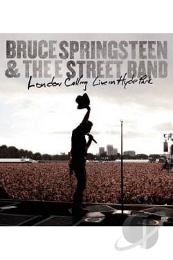 Bruce Springsteen & the E Street Band: London Calling - Live in Hyde Park DVD Cover Art