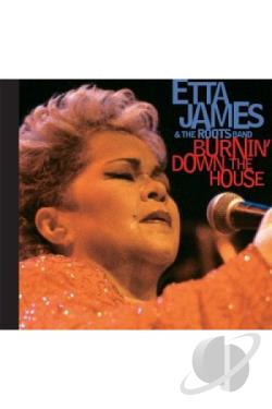 Etta James - Etta James and the Roots Band: Burning Down the House DVD Cover Art