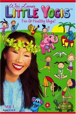 Wai Lana's Little Yogis, Vol. 1 DVD Cover Art
