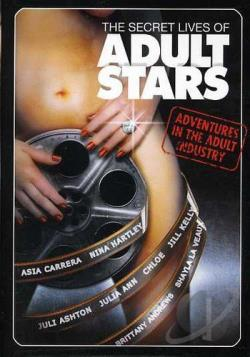 Secret Lives of Adult Stars DVD Cover Art