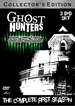 Ghost Hunters - The Complete First Season DVD Cover Art