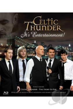 Celtic Thunder: It's Entertainment! BRAY Cover Art