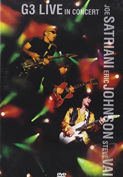 G3 - Live in Concert DVD Cover Art