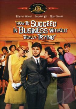 How to Succeed in Business Without Really Trying DVD Cover Art