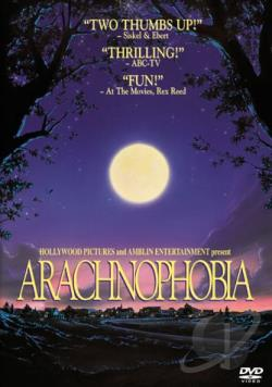 Arachnophobia DVD Cover Art