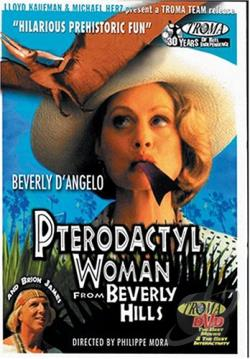 Pterodactyl Woman From Beverly Hills DVD Cover Art