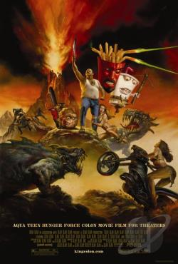 Aqua Teen Hunger Force Colon Movie DVD Cover Art
