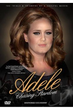 Adele: Chasing Stardom - Unauthorized Documentary DVD Cover Art