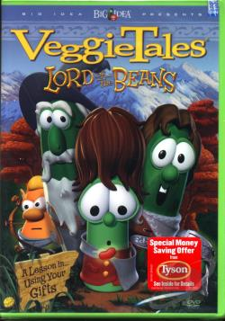 VeggieTales - Lord of the Beans DVD Cover Art
