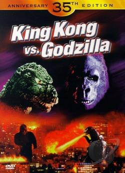 King Kong Vs. Godzilla DVD Cover Art