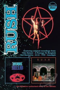 Rush: 2112 - Moving Pictures DVD Cover Art