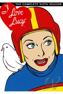 I Love Lucy - The Complete Sixth Season DVD Cover Art
