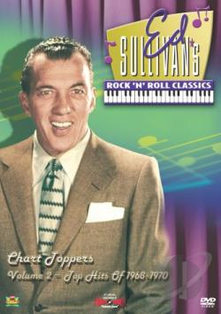 Ed Sullivan's Rock 'N' Roll Classics Volume 2 - Hits Of 1968-1970 DVD Cover Art