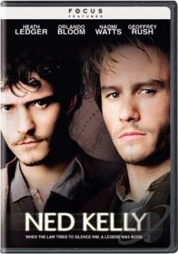 Ned Kelly DVD Cover Art