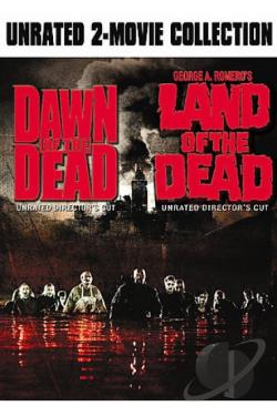Dawn of the Dead/Land of the Dead DVD Cover Art