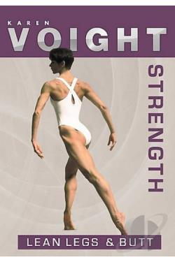 Karen Voight - Strength: Legs and Butt DVD Cover Art