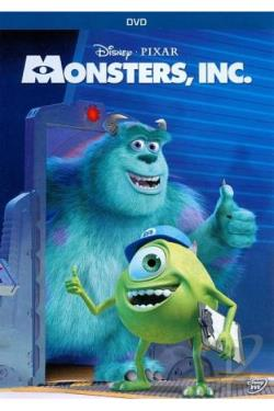 Monsters, Inc. DVD Cover Art