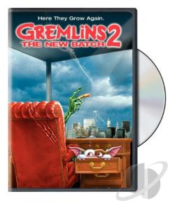 Gremlins 2 - The New Batch DVD Cover Art