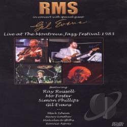 RMS and Gil Evans - Live at the Montreux Jazz Festival: 1983 DVD Cover Art