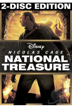 National Treasure DVD Cover Art