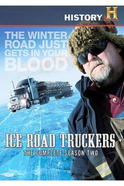 Ice Road Truckers - The Complete Second Season DVD Cover Art