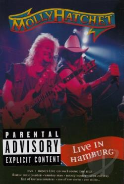 Molly Hatchet - Live in Hamburg DVD Cover Art